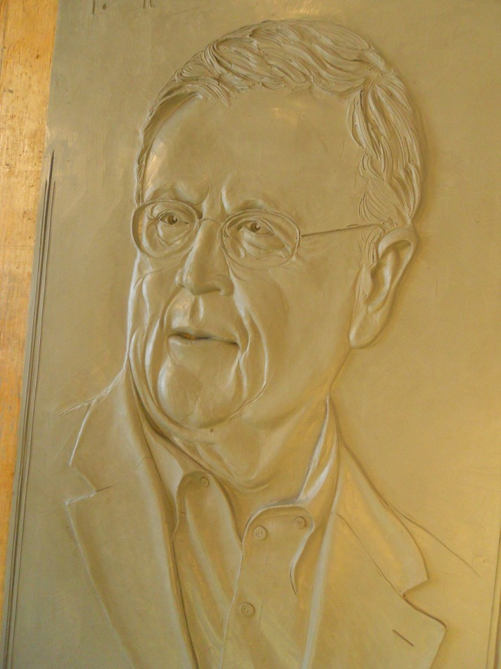 Woustra portrait in clay