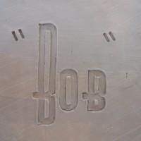 """""""Bob"""" deco letters"""