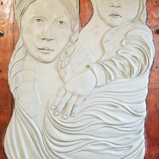 """A Mother's Burden"" for Trail of Tears Park in Princeton, KY"