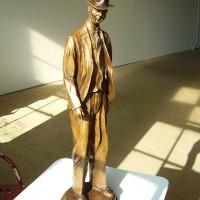 Hardboiled in bronze